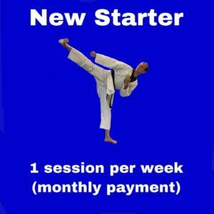 New Starter – 1 session per week