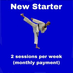 New Starter – 2 sessions per week for a month
