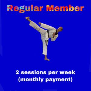 Regular Member – Two sessions per week