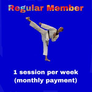 Regular Member – 1 session per week