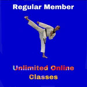 Regular Member – Unlimited Online Classes