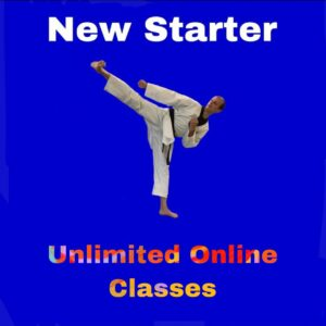 New Starter – Unlimited online classes for a month